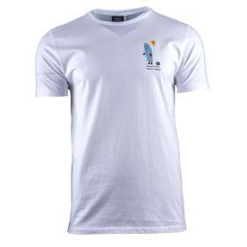 Camiseta Hombre Edmmond Fantasmita  (Blanco, M)