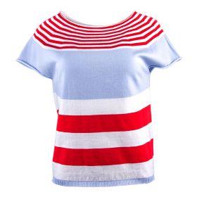 Camiseta Mujer Blugirl 05034 (Multicolor, S)