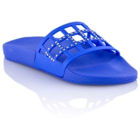 Chancla Mujer Menghi 322397 (Azul-02, 37 )