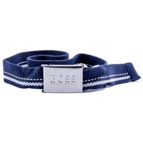 Cinturón Niño Hugo Boss J20202 (Azul-01, 70 cm.)