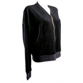 Sudadera Mujer Juicy Couture WTKJ50551 (Negro, XL)