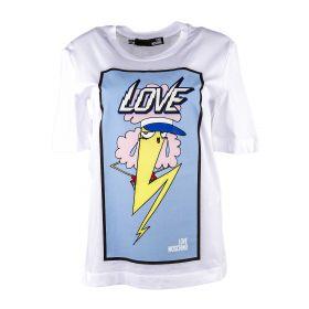 Camiseta Mujer Love Moschino W4F151ZM3876