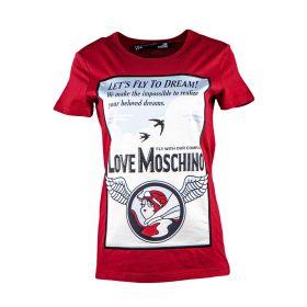 Camiseta Mujer Love Moschino W4F7351M3517