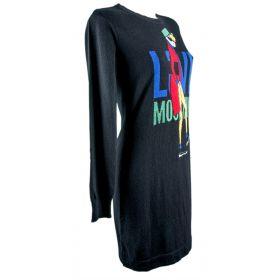 Vestido Mujer Love Moschino WS03S00X0683 (Negro, XS)