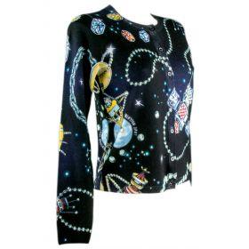 Chaqueta de punto Mujer Love Moschino WSN0301X1057 (Multicolor, XS)