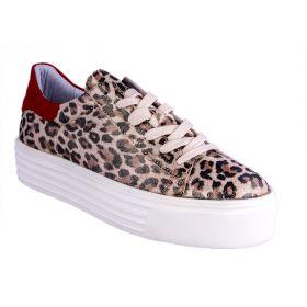 Zapatillas Mujer Alpe 174052A3 (Leopardo, 39)