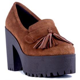 Zapato Mujer Alpe 32041101 (Marron, 38)