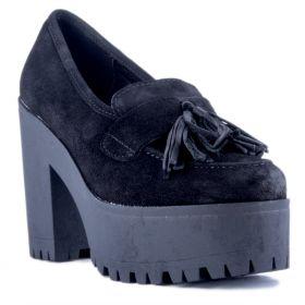 Zapato Mujer Alpe 32041105 (Negro, 39)
