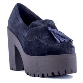 Zapato Mujer Alpe 32041128 (Azul-01, 39)