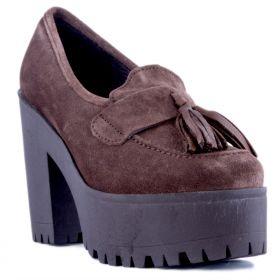 Zapato Mujer Alpe 32041148 (Marron, 40)