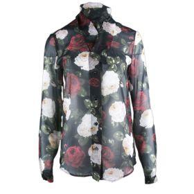Camisa Mujer Blugirl 02360 (Multicolor, XS)