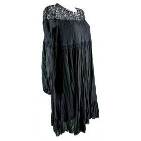 Vestido Mujer Blugirl 02441 (Negro, XS)