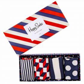 Calcetines Mujer Happy Socks  Stripe Gift Box