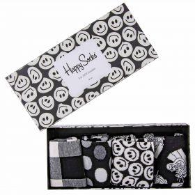 Calcetines Mujer Happy Socks Black & White Gift Bo