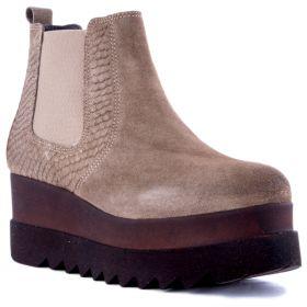 Botín Mujer Hangar shoes 3832 (Marron, 39)