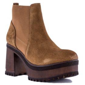 Botín Mujer Hangar shoes 3875 (Beige, 36 )