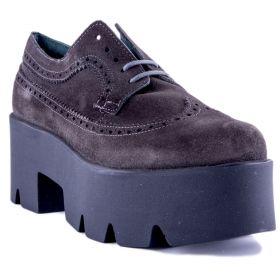 Zapato Mujer Visset 702 (Marron, 39)