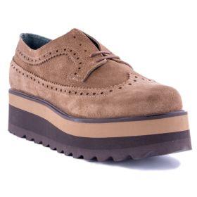 Zapato Mujer Visset 802 (Beige, 39)