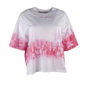 Camiseta Mujer Karl Lagerfeld TIE DYE LOGO