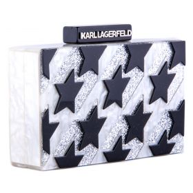 Bolso Mujer Karl Lagerfeld (Gris, Única)