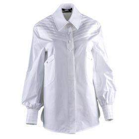 Camisa Mujer Karl Lagerfeld Karl Fitted Pleated