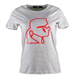 Camiseta Mujer Karl Lagerfeld K/Ikonik