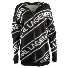 Chaqueta Mujer Karl Lagerfeld Wool Blend Logo