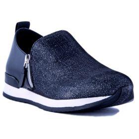 Zapatillas Mujer NR | Rapisardi VELIA-24GLMIX (Negro, 36 )