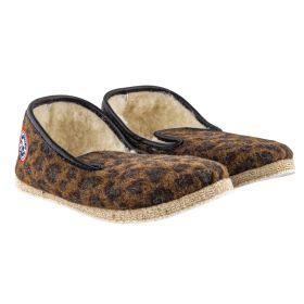 Zapatillas Mujer Pantoufle À Pépère LEOPARD