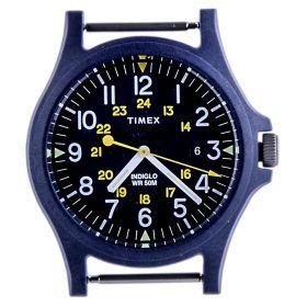 Esfera reloj Unisex Timex TW2R83800LH (Azul-01, Única)