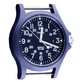Esfera reloj Unisex Timex TW4B08600WS (Azul-01, Única)