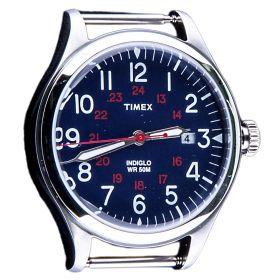 Esfera reloj Unisex Timex TW2R13400WS (Azul-01, Única)