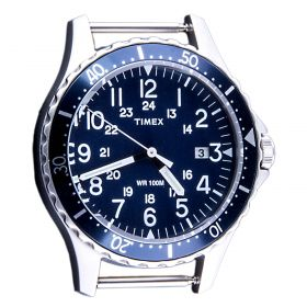 Esfera reloj Unisex Timex TW2R58100WS (Azul-01, Única)