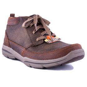 Zapatillas Hombre Skechers 64854 (Marron, 40)