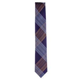 Corbata Hombre Blick Y707851 (Violeta, Única)