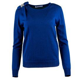 Jersey Mujer Blugirl 04031 (Azul-01, M)