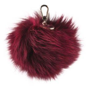 Llavero Mujer Furla RI89-PELLICCIA (Rojo-02, Única)