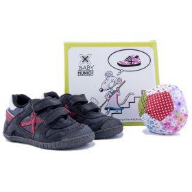 Conjunto zapatillas + pelota Niño Munich 8172318 (Bicolor, 18)