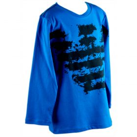Camiseta Niño Armani Junior 6X4T12-4J09Z (Azul-01, 4-años)