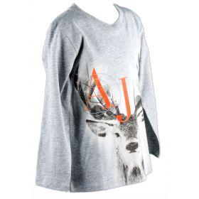 Camiseta Niño Armani Junior 6X4T22-4J09Z (Naranja, 8-años)