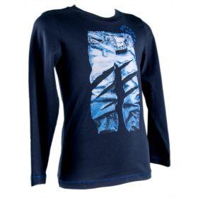 Camiseta Niño Diesel 00J37W-KYALD (Azul-01, 4-años)