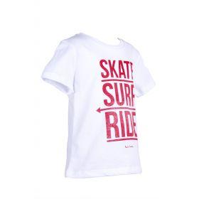 Camiseta niño Paul Smith Junior (Blanco, 16 años)