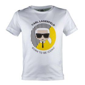 Camiseta Niño Karl Lagerfeld Z25175