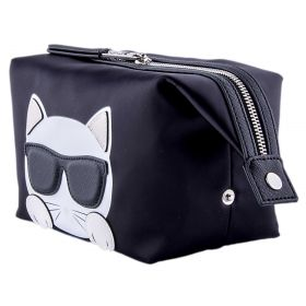 Neceser Mujer Karl Lagerfeld Ikonik Choupette 3231 (Negro, Única)
