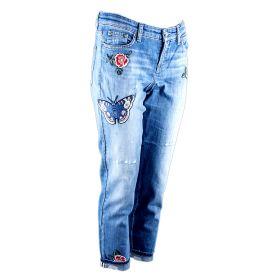 Pantalón tejano Mujer Cambio 9105-0114-03 (Azul-01, S)