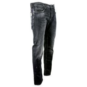 Pantalón tejano Hombre MAC Jeans 1975L-0370-00 (Negro, XL)
