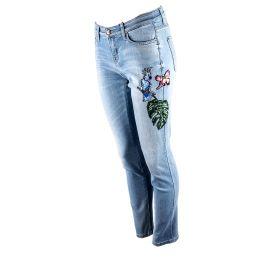 Pantalón tejano Mujer Cambio 9128-0127-72 (Azul-03, L)