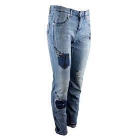 Pantalón tejano Mujer MAC 0336-2336-91 (Azul-03, M)