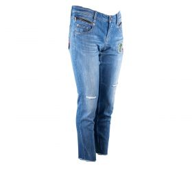 Pantalón tejano Mujer Cambio 9105-0121-02 (Azul-01, M)