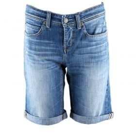Pantalón tejano corto Mujer Cambio 9105-0122-08 (Azul-02, S)